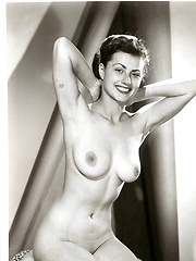 Classic beauties with large boobs in the fifties