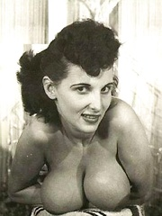 Some busty vintage girls showing their own titties